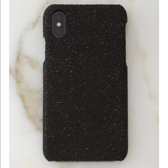 iPhone X Swarovski Crystal Fabric Case 5d4c8859f